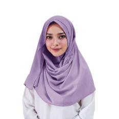Zenia Hijab Kerudung Instan - [Warna Lavender]