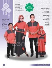 Zenitha Sarimbit 223 - Sarimbit Katun - Jual Baju Sarimbit Keluarga Or
