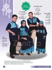 Zenitha Sarimbit 243 - Sarimbit Katun - Jual Baju Sarimbit Keluarga