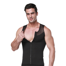 Promo Zerobodys Pria Pelangsing Tubuh Perut Rompi Pembentuk Perut Korset Pakaian Dalam Baju Baru Ss M09 Hitam Akhir Tahun