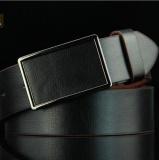 Ongkos Kirim Zh Man Sabuk Kulit Buckled Belt Dan Belt Retro Dan Halus Clasp Hitam Di Tiongkok