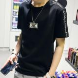 Daftar Harga Zh Shopping Men S Casual Loose Seven Sleeve T Shirt Black Intl Oem