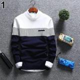 Dimana Beli Zico Sweater Navy Sweater Pria