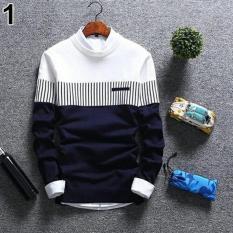 Promo Zico Sweater Navy Sweater Pria