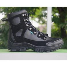 Zimzam Pdl Srd Sepatu Fashion Pria Military Black Asli