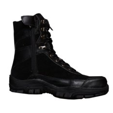 Zimzam Sepatu Boot Underarmour High Hitam Asli
