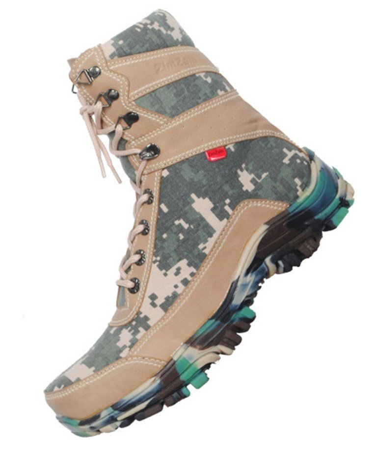 ZimZam Sepatu UnderArmour Army Kostrad Loreng
