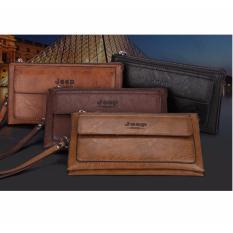 Spesifikasi Jeep Tas Tangan Clutch Handbag 1621 Import Coklat Muda Terbaru