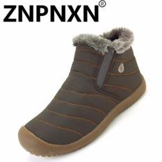 Znpnxn Sepatu Kasual Musim Gugur And Musim Dingin Baru Men S Cotton Sepatu Pria S Kasual Sepatu Hitam Tiongkok