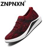 Jual Znpnxn Kaus Busana Pria S Sneakers Kenyamanan Fesyen Merah Intl Branded Murah