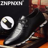 Jual Znpnxn Kaus Berkualitas Tinggi Kulit Sepatu Gaun Tide Menunjuk Gaya Inggris Bisnis Pernikahan Formal Flats Sepatu Hitam For Pria Hitam Znpnxn Grosir
