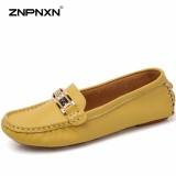 Jual Cepat Znpnxn Fesyen Sendal Kasual Flat Dipercaya Peas Sepatu Telapak Kaki Lembut Kasual Datar Perawat Sepatu Peas Kuning Intl