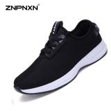 Znpnxn Kaus Pecinta Sepatu Olahraga Jaring Kasual Mode Sepatu Outdoor Olahraga Sepatu Kasual Sepatu Hitam Intl Terbaru