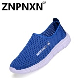 Spesifikasi Znpnxn Kaus Pria Kasual Olahraga Sepatu Pria S Mountaineering Sepatu Untuk Olahraga Lari Biru Intl Murah Berkualitas
