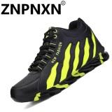 Beli Znpnxn Sepatu Pria Olahraga Sepatu Fashion Sepatu Bola Basket Bernapas Hijau Intl Murah