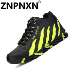 Jual Znpnxn Sepatu Pria Olahraga Sepatu Fashion Sepatu Bola Basket Bernapas Hijau Intl Znpnxn Online