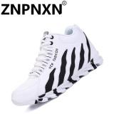 Jual Beli Online Znpnxn Sepatu Pria Olahraga Sepatu Fashion Sepatu Bola Basket Breathable Putih Intl