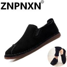 Pria's Carrefour Sepatu Casual Home Outdoors Sepatu (Hitam)-Intl