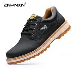 Jual Pria S Kasual Mode Sepatu Frock Sepatu Olahraga Sepatu Fashion Tide Outdoor Olahraga Sepatu Sepatu Kasual Mens Sepatu Kulit Kasual Sepatu Hitam Intl Znpnxn Ori