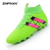 Jual Znpnxn Men S Shoes Spike Football Boots Shock Absorption Shock Resistance Fashion Men S Football Shoes Professional Stud Football Shoes (Fluorescent Green) Intl Original