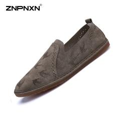 Spesifikasi Pria S Sepatu Musim Panas Lapisan Tunggal Serat Super Lazy Casual Shoes Casual Fashion Bernapas Pria Sepatu Ukuran 39 44 Yards Khaki Intl