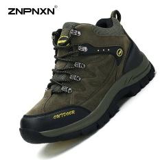Pria S Sepatu Gaya Baru Sepatu Laki Laki Olahraga Kasual Sepatu Fashion Outdoor Hiking Sepatu Pria S Sepatu Hijau Intl Diskon Tiongkok