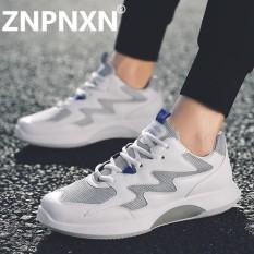 Znpnxn Sepatu Lari Baru Tiba Pria Jaring Bernapas Luar Ruangan Olahraga Sepatu Pria Atletik Latihan Run Sneakers Pria Kasut Sukan Kasut ran-Internasional
