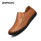 Promo Znpnxn Kaus Spring Pure Manual Tanpa Karet Shoes Sepatu Malas Mens Sepatu Slip On Black Sepatu Mewah Pria Pu Leathe Sapato Masculino Ukuran 38 44 Meter Emas Intl Murah