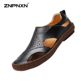 Promo Znpnxn Baru Musim Panas Men S Shoes Sepatu Desainer Pria Berkualitas Tinggi Sandal Pria Sapato Masculino Ukuran 38 44 Meter Hitam Intl Znpnxn