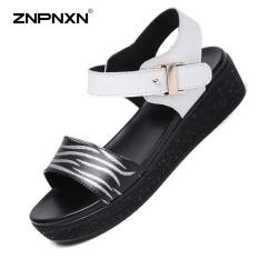 Spesifikasi Znpnxn Kaus Wanita Sepatu Kulit Kasual Lithe Dan Indah Sandal Sepatu All Match Nyaman Fashion Sendal Wanita Trend Sepatu Ukuran 35 40 Yard Putih Intl Lengkap