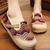 Pusat Jual Beli Znpnxn Kaus Wanita Thailand Sepatu Straw Shoes Lace Up Shoes Mocassins Loafer Brown Tiongkok