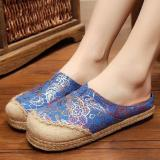 Spesifikasi Znpnxn Kaus Wanita Thailand Sepatu Straw Sepatu Silp On Sepatu Mocassins Loafer Biru Beserta Harganya