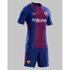 Jual Zoc Jersey Bola Kaos Olahraga T Shirt Barca Set Celana Home Away 3Rd 17 18 Di Bawah Harga