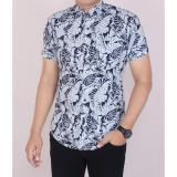 Beli Zoeystore 5462 Kemeja Printing Pria Lengan Pendek Exclusive Baju Kemeja Formal Cowok Kerja Kantoran Kemeja Pantai Blue Murah Di Dki Jakarta