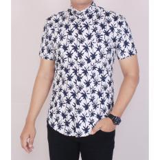 Harga Zoeystore 5464 Kemeja Printing Pria Lengan Pendek Exclusive Baju Kemeja Formal Cowok Kerja Kantoran Putih Motif Kelapa Kemeja Pantai Di Dki Jakarta