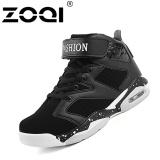 Harga Zoqi Sepatu Basket Ukuran Besar Anti Slip Outdoor Sport Athletic Ankle Boots Olahraga Shoes Hitam Intl Zoqi Baru