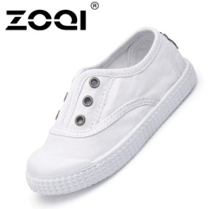 Harga Zoqi Boy S Dan Santai Anak Perempuan Sepatu Fashion Baby Canvas Shoes Putih Intl Yang Bagus