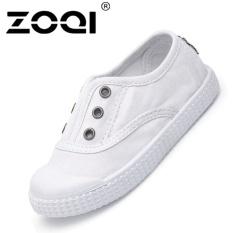 Harga Zoqi Boy S Dan Santai Anak Perempuan Sepatu Fashion Baby Canvas Shoes Putih Intl Zoqi Asli