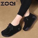 Perbandingan Harga Zoqi Sepatu Casual Wanita Terang Ringan Fashion Sepatu Hitam Intl Di Tiongkok