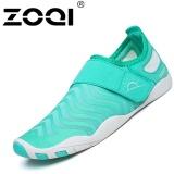 Jual Zoqi Fashion Surfing Sepatu Luar Ruangan Renang Air Sepatu Olahraga Biru Muda Zoqi