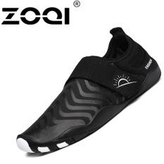 ZOQI Fashion Surfing Sepatu Luar Ruangan Renang Air Olahraga Sepatu (hitam)