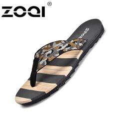 Zoqi Sandal Jepit Fashion Men S Beach Sandal Sepatu Kasual Abu Abu Intl Zoqi Diskon 30