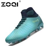 Jual Zoqi High Cut Football Sepatu Long Spike Pelatihan Sepak Bola Sepatu Sepak Bola Cleat Biru Intl Zoqi Di Tiongkok
