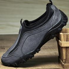 Harga Zoqi Pria Papa Sepatu Desain Profesional Berjalan Sepatu Grey Intl Branded