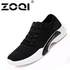 Zoqi Pria Berlari Sepatu Godd Kualitas Sneaker Terang Ringan Olahraga Shoes Hitam Intl Diskon Akhir Tahun