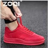 Harga Zoqi Pria Sneaker Profesi Menjalankan Sepatu Bernapas Kolam Air Sport Sepatu Untuk Pria Sepatu Lari Sneaker Merah Intl Termurah