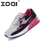 Dapatkan Segera Zoqi Pria Fashion Sneaker Air Cushion Casual Olahraga Shoes Grey Pink Intl
