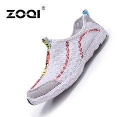 Harga Zoqi Pria Dan Wanita S Fashion Sports Outdoors Sepatu Olahraga Sepatu Air Sepatu Putih Intl Yang Murah Dan Bagus