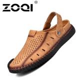 Toko Zoqi Pria Fashion Kasual Beach Sepatu Musim Panas Sandal Sandal Kuning Intl Tiongkok