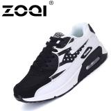 Tips Beli Zoqi Pria Fashion Sneaker Air Cushion Casual Putih Hitam Intl Yang Bagus